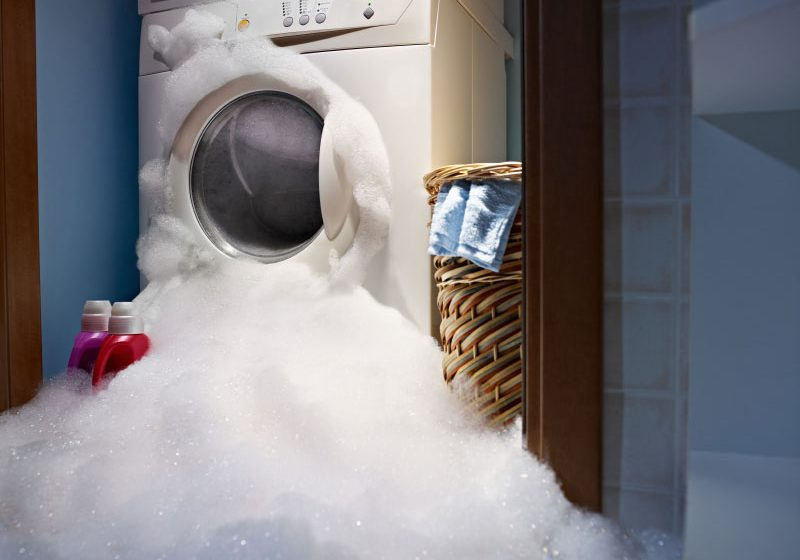 washing machine over flow